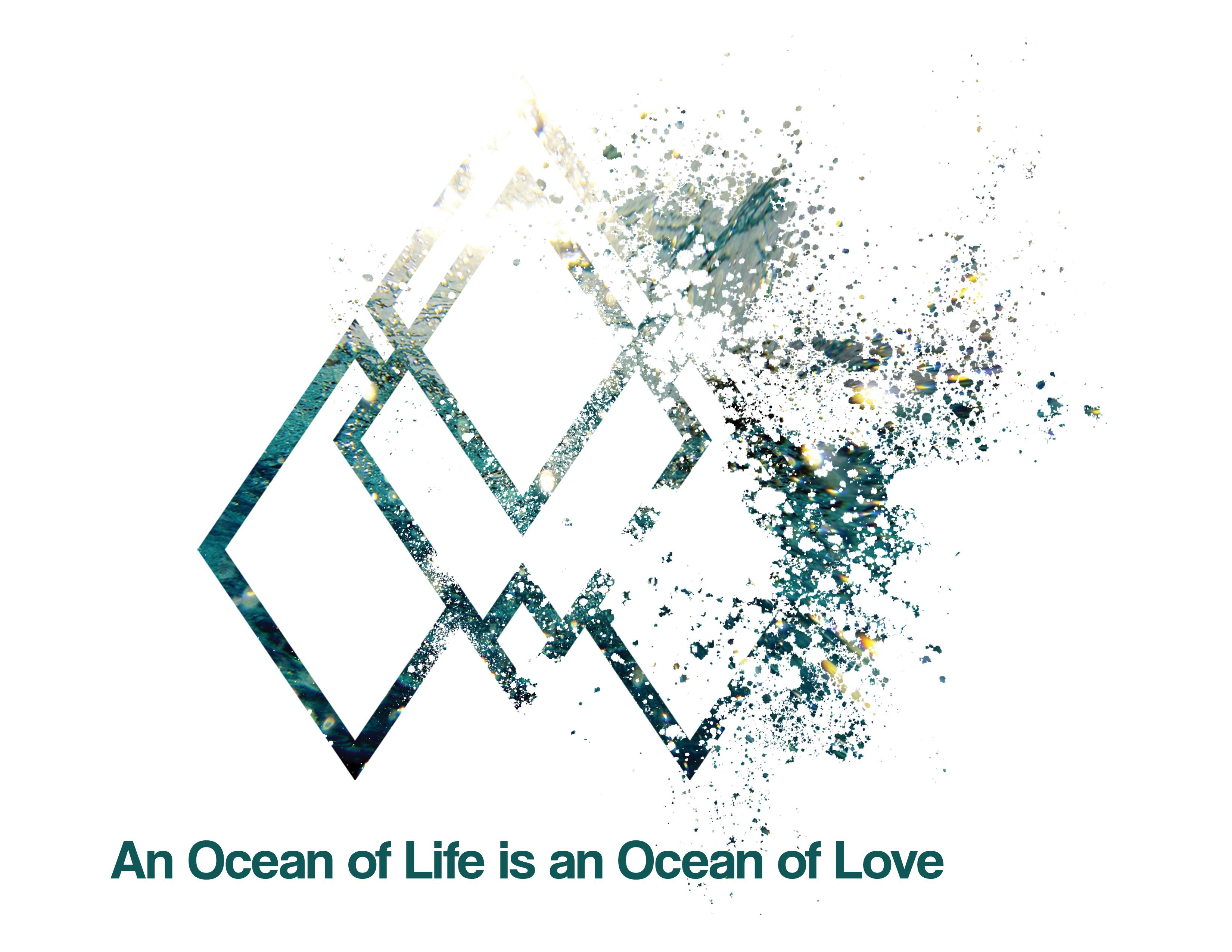 An Ocean of Love T-shirt Ocean Explosion Graphic