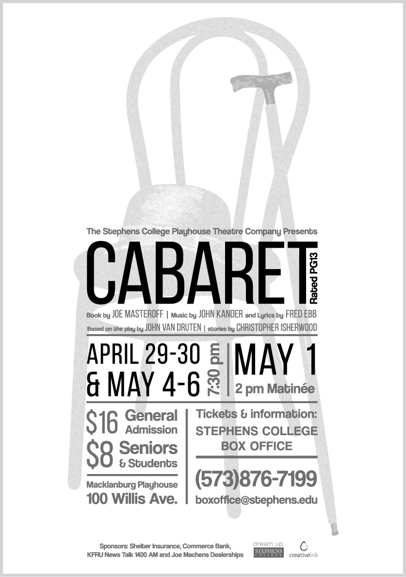Newspaper Ad for Cabaret