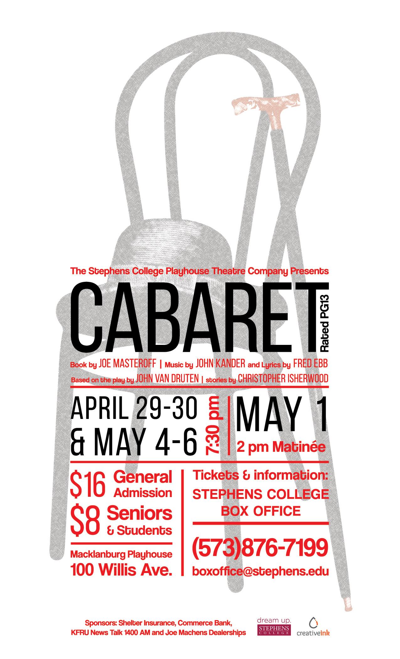 Poster for Cabaret