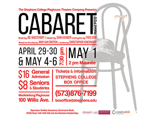 Creative Ink: Cabaret Poster Client Project