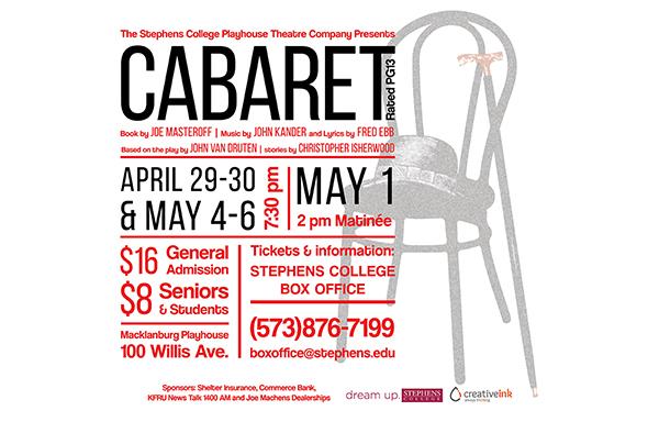 Creative Ink: Cabaret Poster