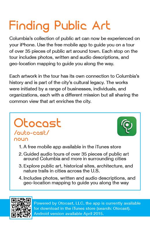 Get Smart Client Project: OCA Public Art Card Back