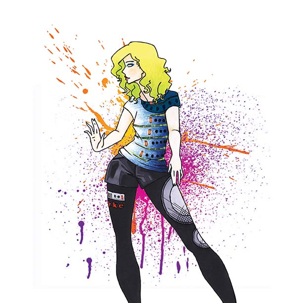 Fashion Illustration: Dubstep Collection