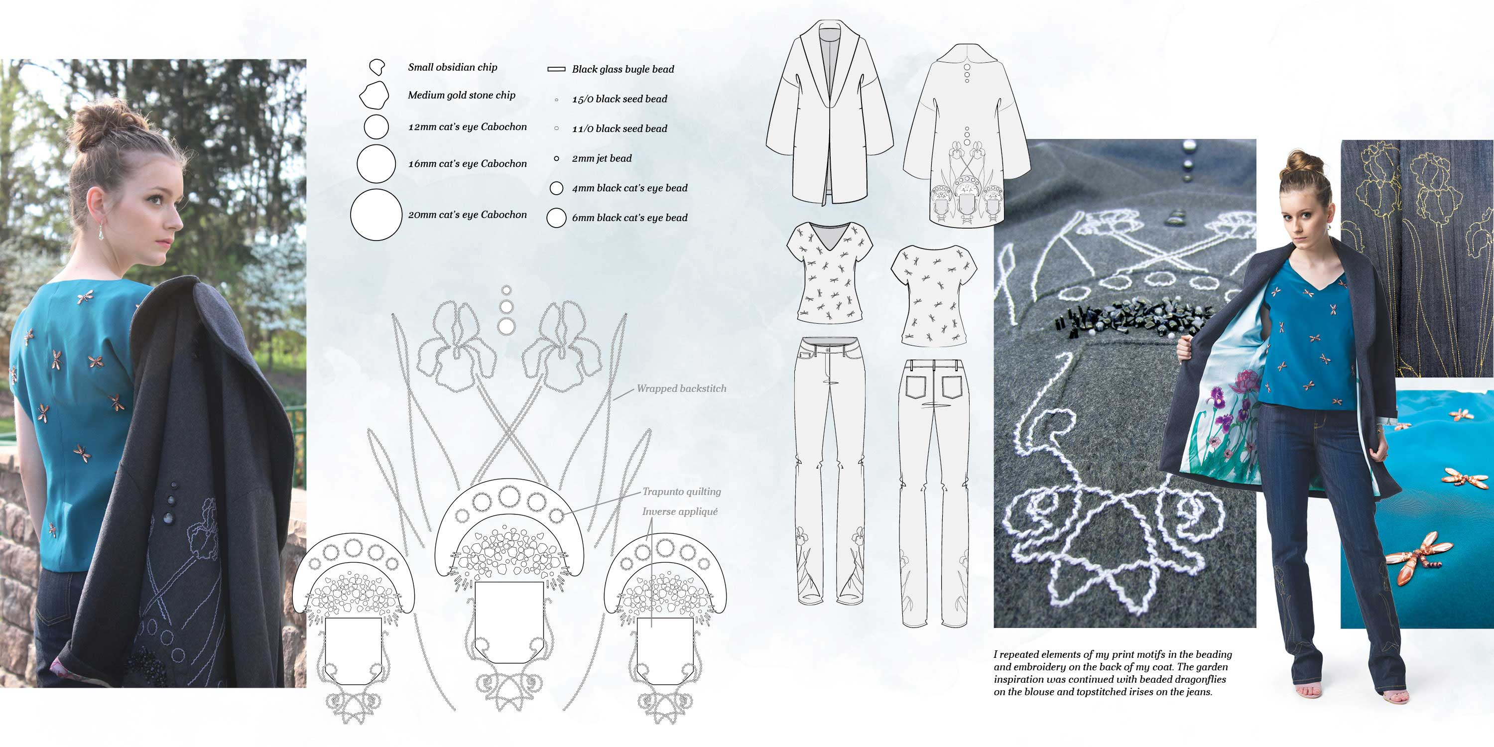 Senior Collection Tech Design on Kathryn McCarthy's Online Portfolio