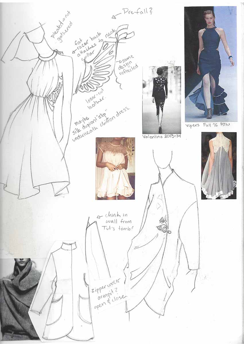 Tailoring Process on Kathryn McCarthy's Online Portfolio